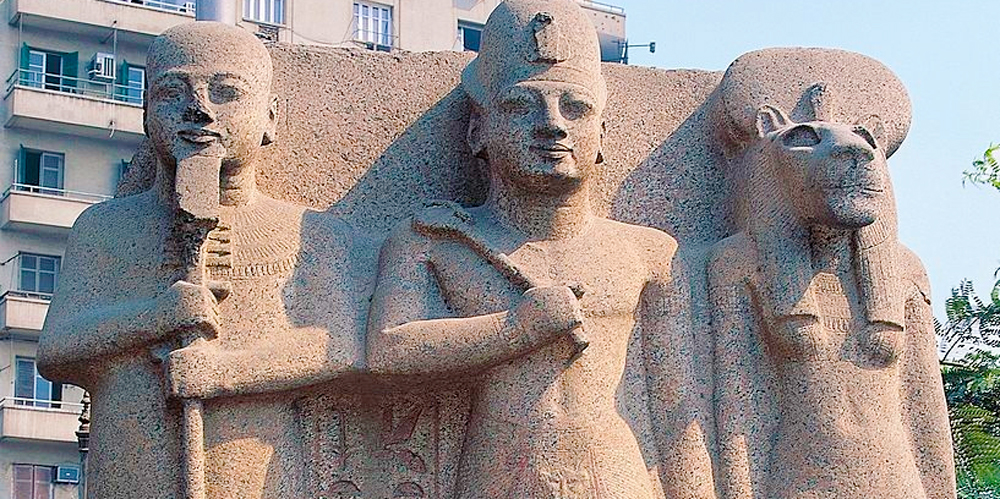 Temple of Ptah and Sekhmet at Memphis City - Trips in Egypt