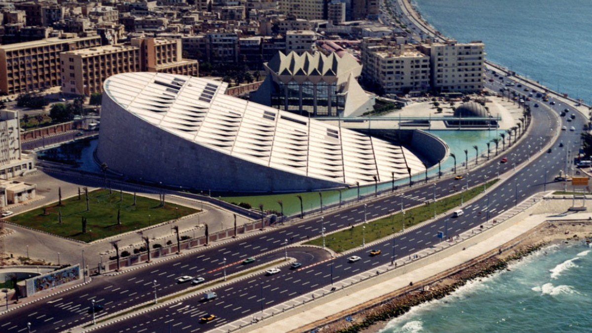 The Wonderful Alexandria Library - Trips In Egypt