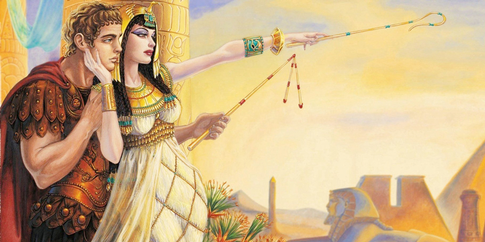 Cleopatra and Antony - Trips in Egypt
