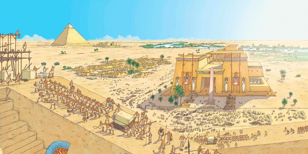 The Great Pyramid of Giza Facts - Khufu Pyramid History - Khufu Pyramid Facts