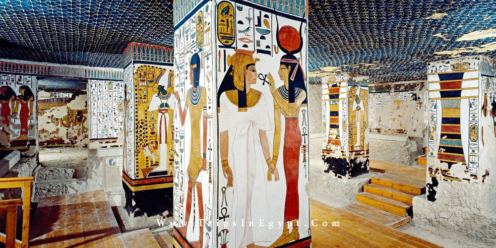 Queen Nefertari Tomb - Trips in Egypt
