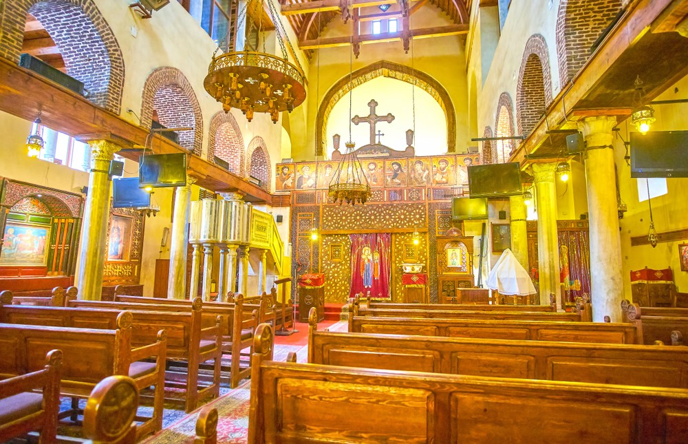 Abu Serga Church - Trips In Egypt