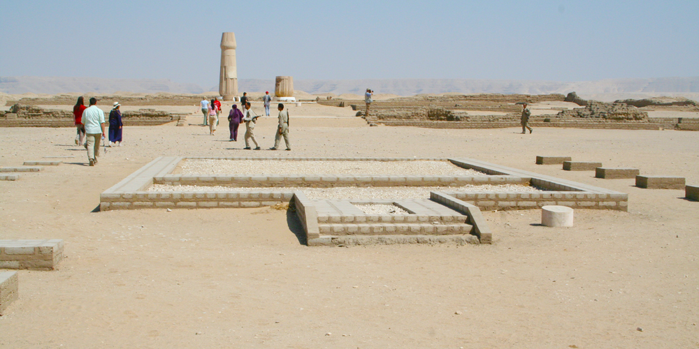 Amarna City - Trips in Egypt
