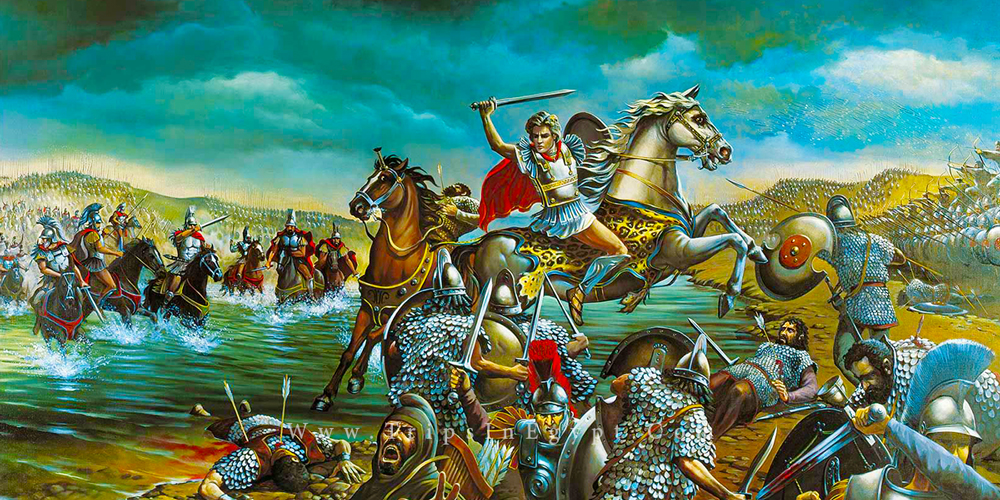Campaigns of Alexander the Great - Trips in Egypt