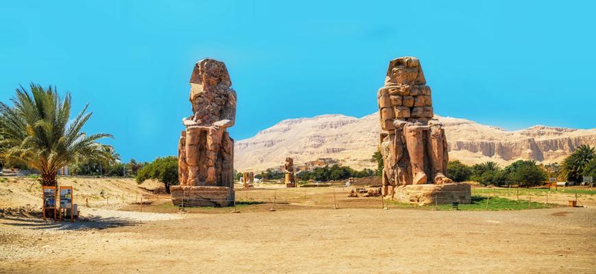 Colossi of Memnon - Tour in Luxor - Trips in Egypt