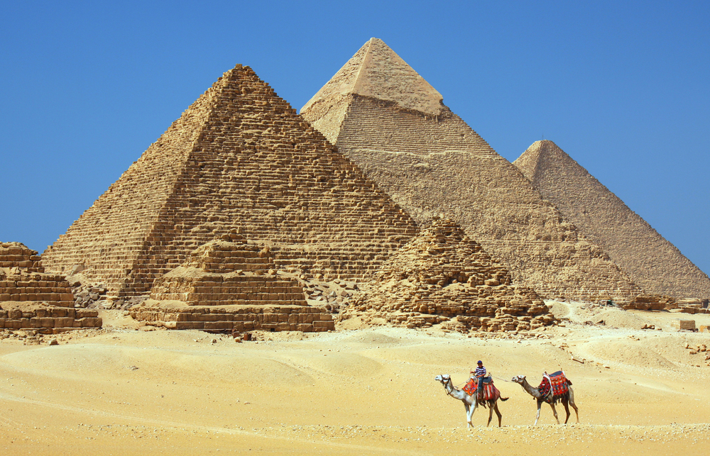 Giza Pyramids - 3 Days Trips to Cairo, Luxor & Aswan from El Gouna - Trips In Egypt
