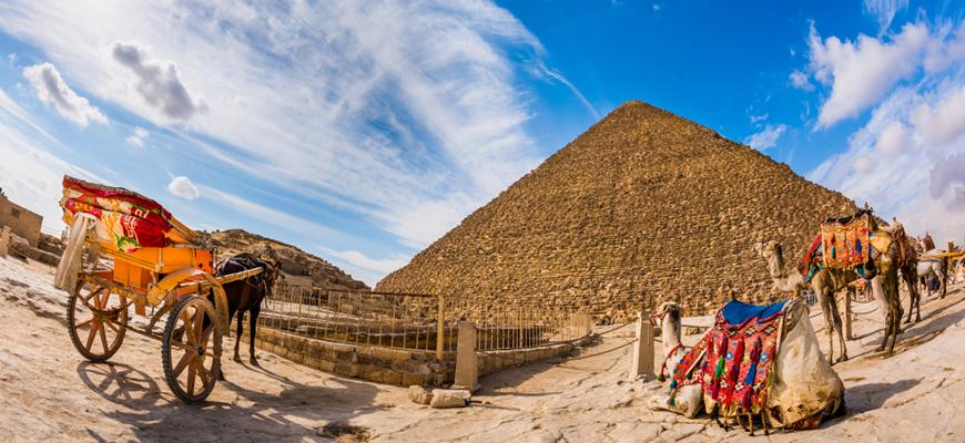 Giza Pyramids Complex | El Gouna to Cairo & Alexandria Tour | TripsInEgypt