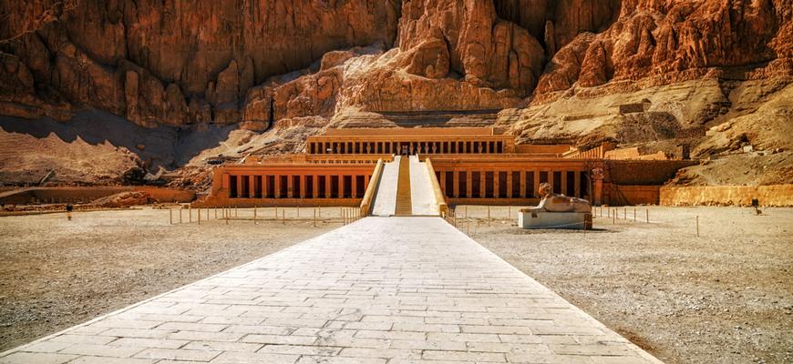 Hatshepsut's Temple | El Gouna to Luxor & Abu Simbel tour | TripsInEgypt