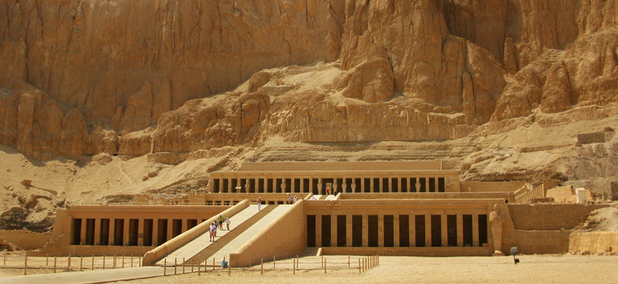 Hatshepsut's Temple | Luxor & Aswan tour from El-Gouna | TripsInEgypt