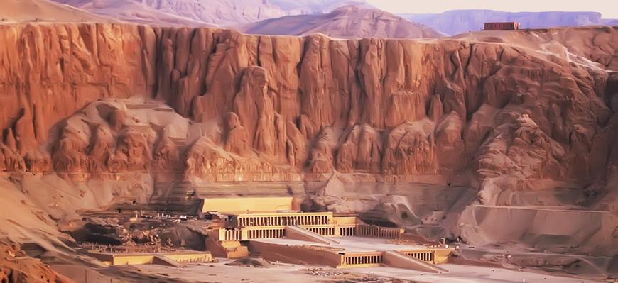 Hatshepsut's Temple - Nile Cruise from El Gouna - TripsInEgypt