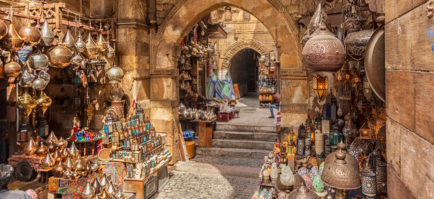 Khan El Khalili Bazar - El-Gouna to Cairo Day Trip - TripsInEgypt