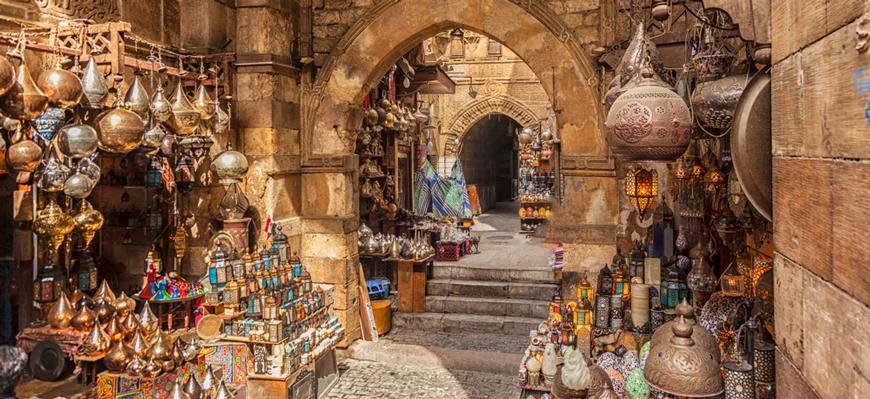 Khan El-khalili Bazar - Cairo trips from El Gouna - TripsInEgypt