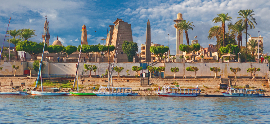 Nile View in Luxor - Day Trip to Luxor East Bank - Trips In Egypt