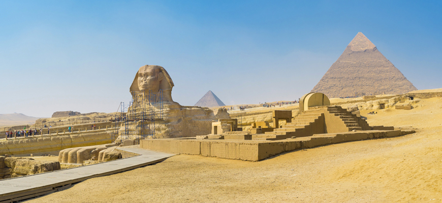 The Sphinx | Day Trip from El Gouna to Cairo by bus | TripsInEgypt