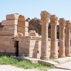 Roman Kiosk (Chapel), of New Year's Festival at the Hathor Temple at Dendera.