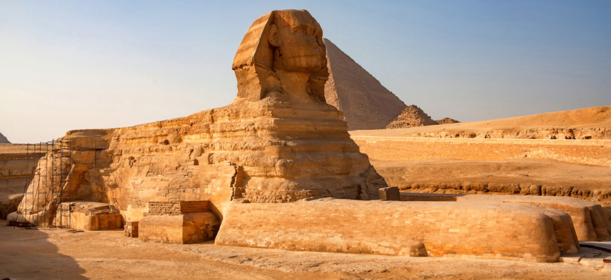 The Sphinx - Day Trip from El Gouna to Cairo by Plane - TripsInEgypt