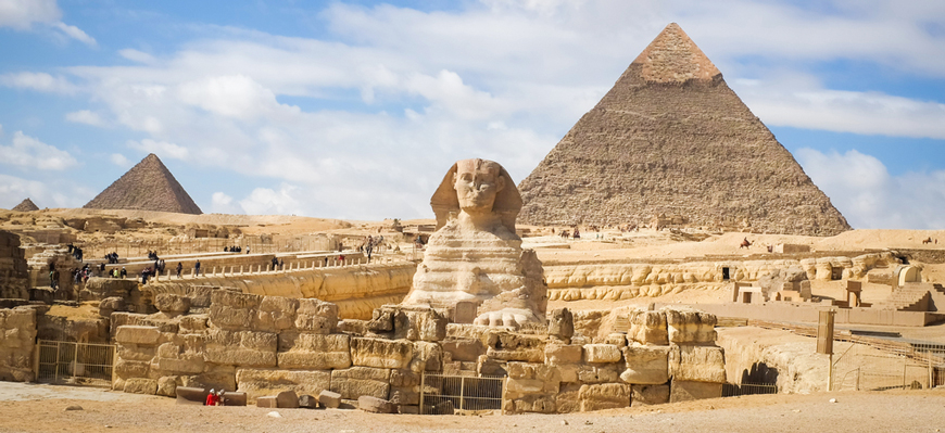The Sphinx - Cairo Day Trips from El Gouna - TripsInEgypt