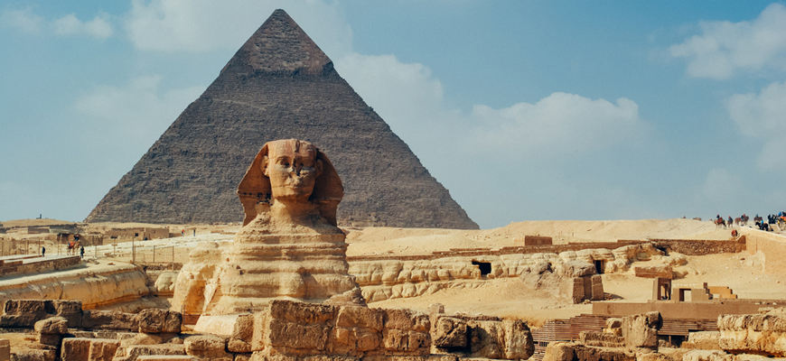 The Sphinx - Luxor To Cairo Day Tour - TripsInEgypt