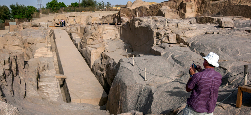 Unfinished Obilisk | Luxor & Aswan tour from El-Gouna | TripsInEgypt