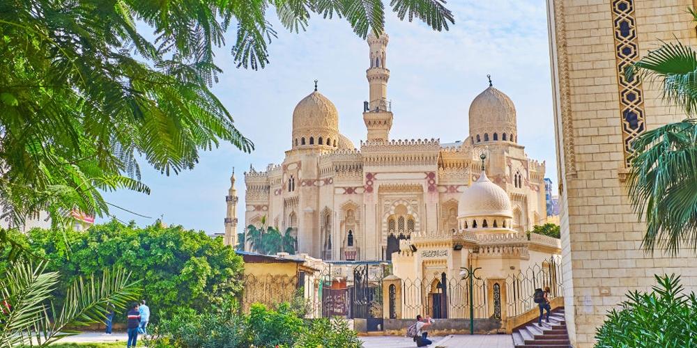 Abu Al Abbas Al Mursi Mosque Architecture - Trips in Egypt