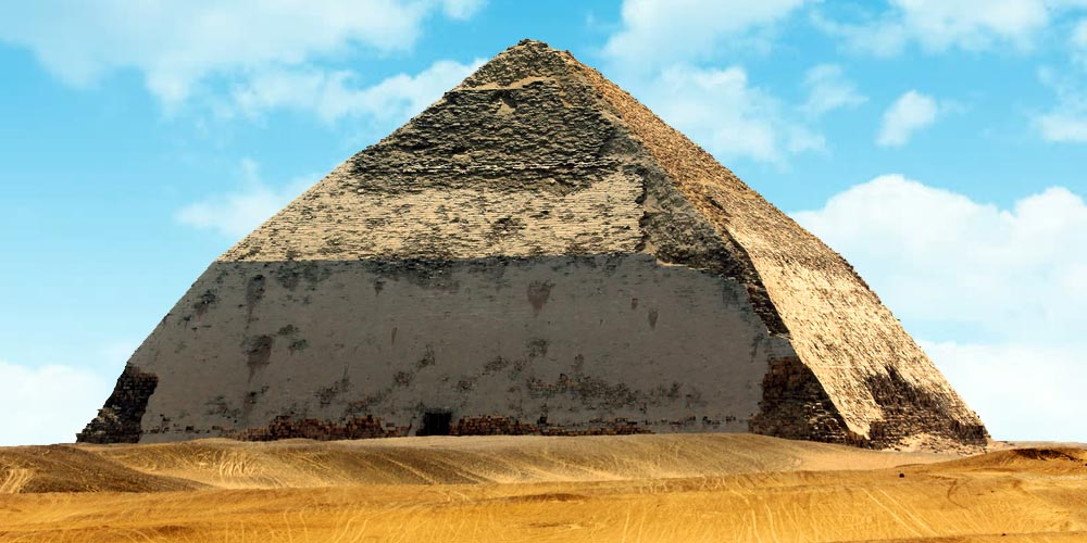 Bent Pyramid - Trips in Egypt