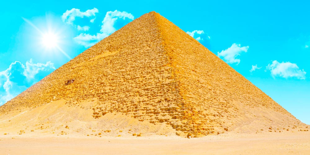 The Red Pyramid Facts - The Red Pyramid History - The Red Pyramid Description