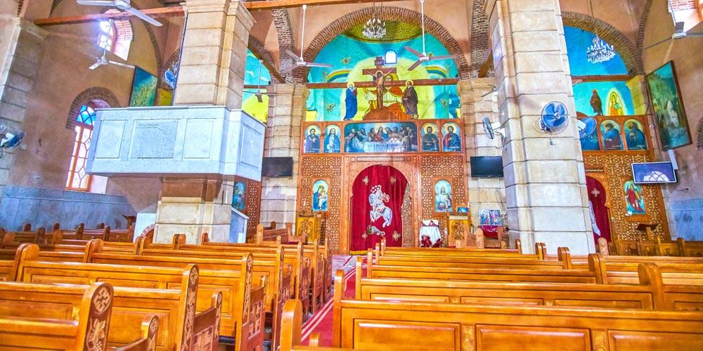 Greek Orthodox Church of St George - Trips in Egypt