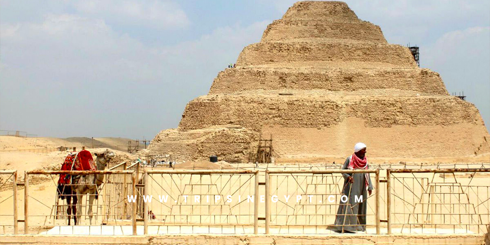 King Djoser Pyramid - Trips in Egypt