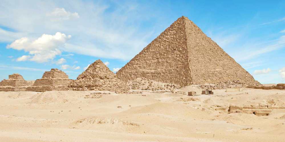 King Menkaure Pyramid - Trips in Egypt
