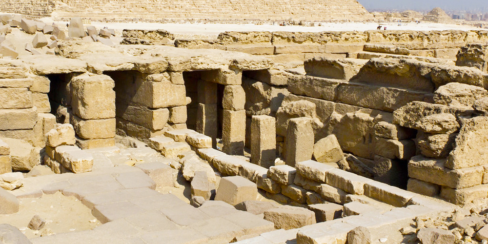 King Menkaure Temple - Trips in Egypt