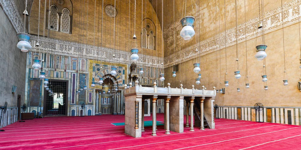 Sultan Hassan Mosque Cairo - Trips in Egypt