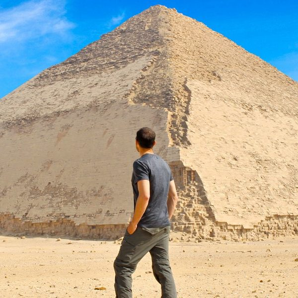 The Bent Pyramid - Trips in Egypt