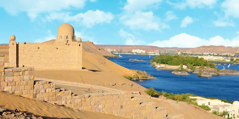 The Mausoleum of Aga Khan - Hidden Attractions in Aswan - Trips in Egypt