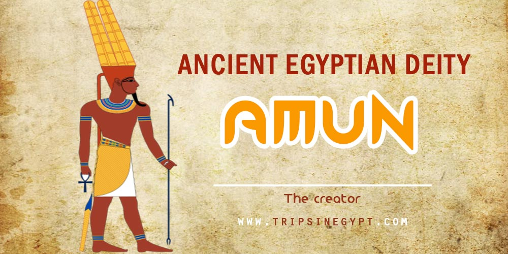 Ancient Egyptian God Amun - Trips in Egypt