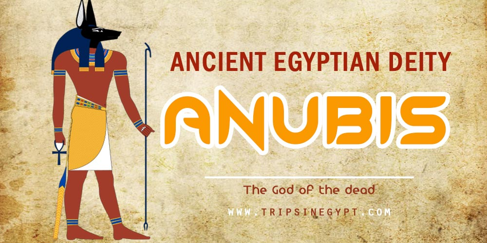 Ancient Egyptian God Anubis- Trips in Egypt
