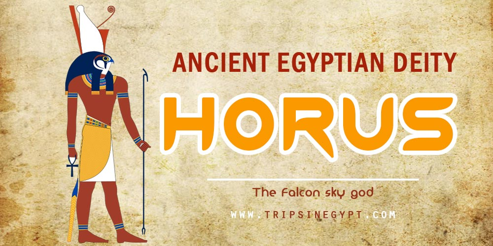 Ancient Egyptian God Horus- Trips in Egypt