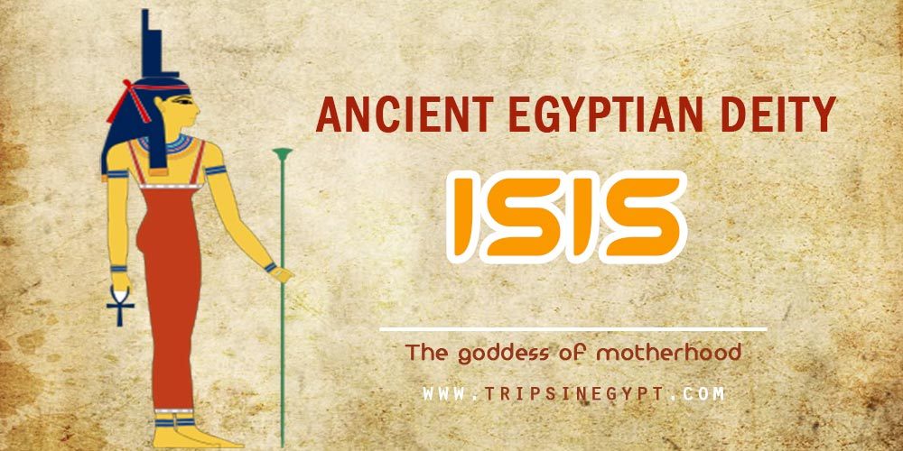 Ancient Egyptian God Isis- Trips in Egypt