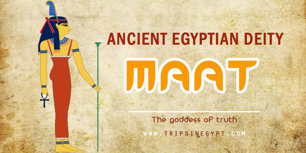 Ancient Egyptian God Maat - Trips in Egypt