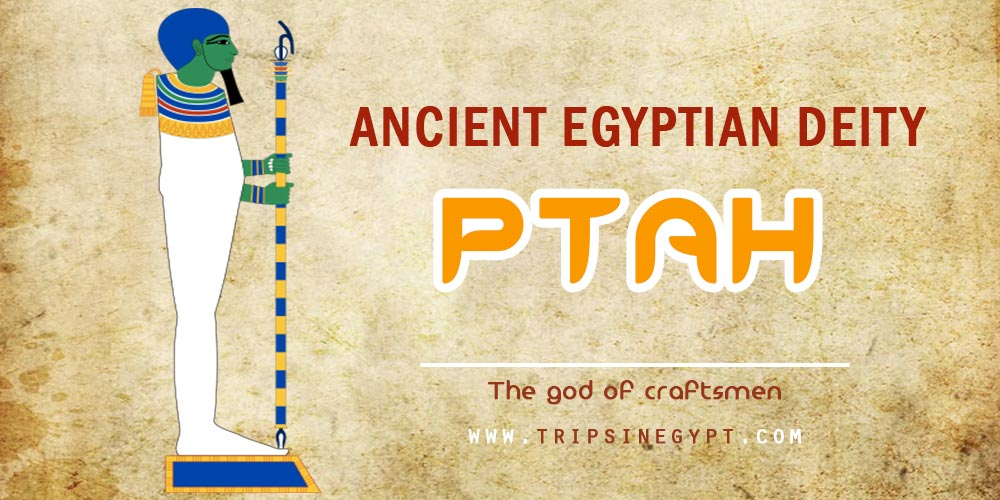 Ancient Egyptian God Ptah- Trips in Egypt