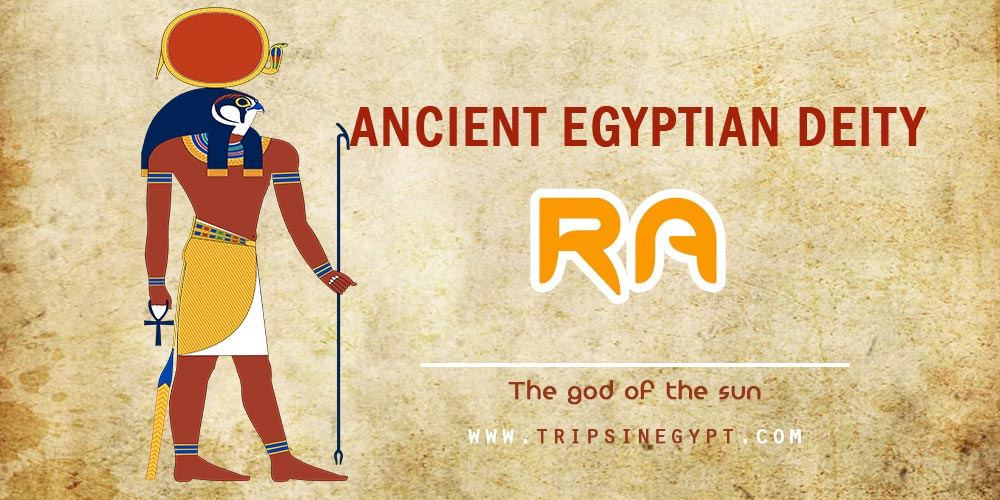 Ancient Egyptian God Ra- Trips in Egypt