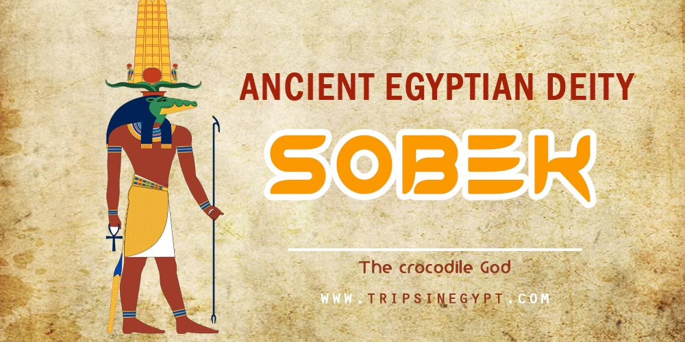 Ancient Egyptian God Sobek- Trips in Egypt