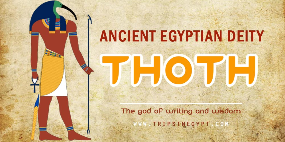 Ancient Egyptian God Thoth- Trips in Egypt