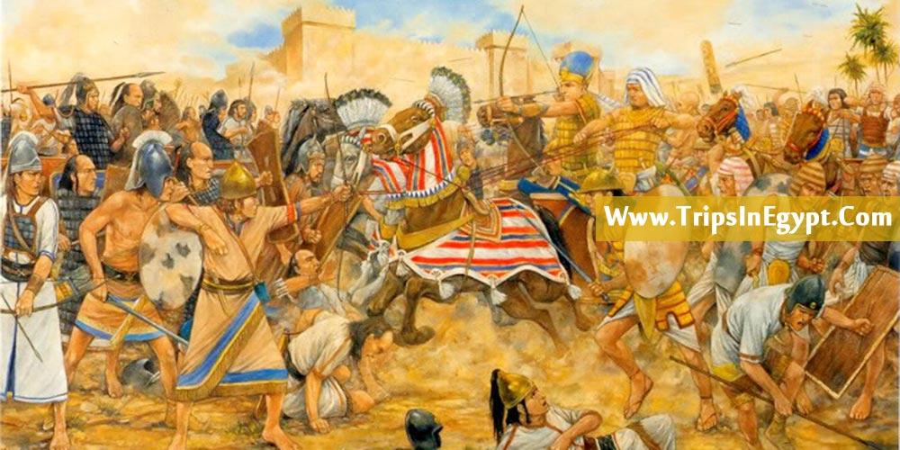 Battle of Megiddo History - Trips in Egypt