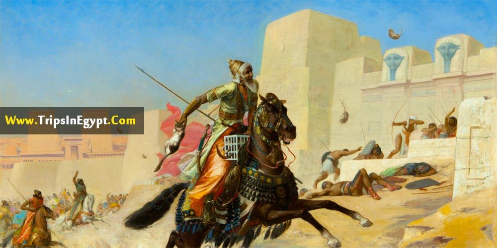 Battle of Pelusium Facts - Trips In Egypt