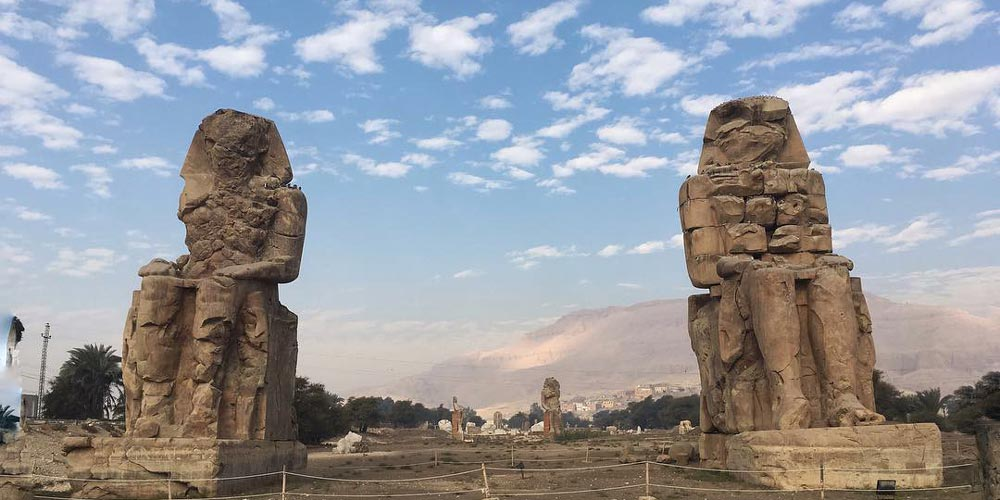 Colossi of Memnon - 2 Days Tours from Cairo to Luxor & Abu Simbel from Hurghada - Trips in Egypt