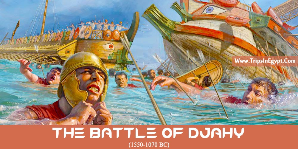 The Battle of Djahy - Trips in Egypt