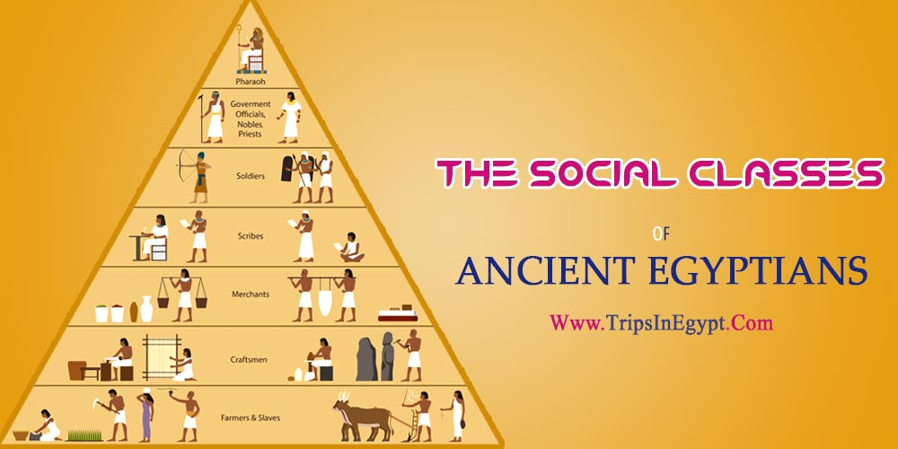 The Social Classes in Ancient Egypt - The Daily Life of Ancient Egyptian - Trips in Egypt