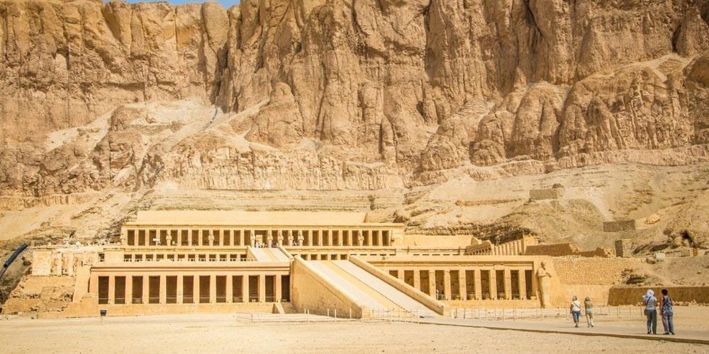 Hatshepsut Temple - Egypt Itinerary 10 Days Cairo, Aswan, Luxor & Hurghada Tour - Trips In Egypt