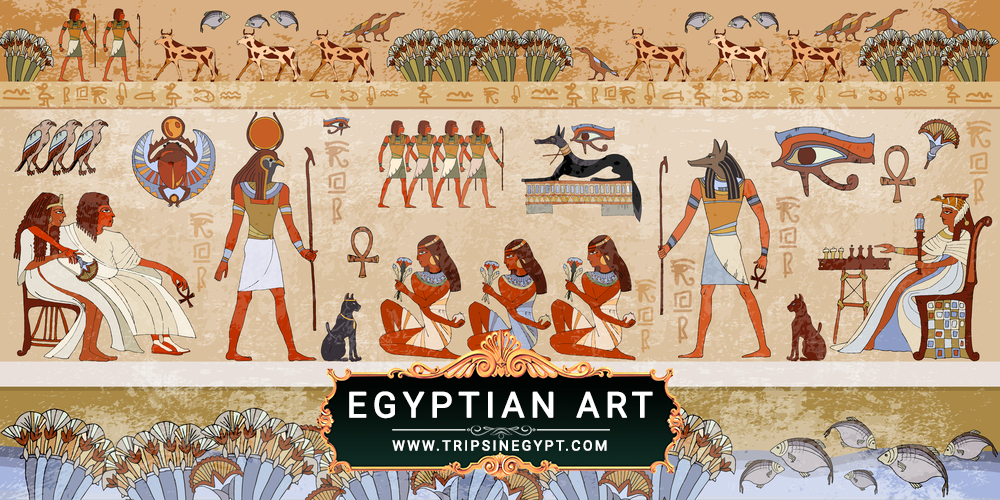 Egyptian Art - Egypt Culture and Traditions - Trips in Egypt