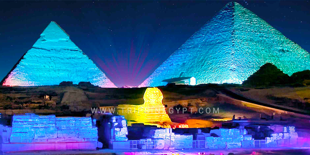 Sound and Light Show Giza Pyramids - 25 Things to Do in Cairo - Trips in Egypt